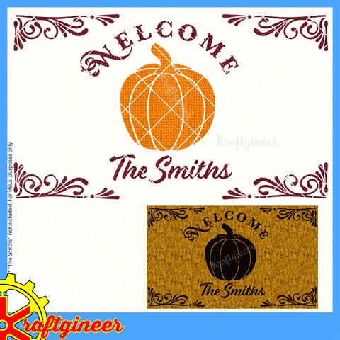 Welcome Pumpkin