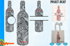 Zen Wine Bottle Set