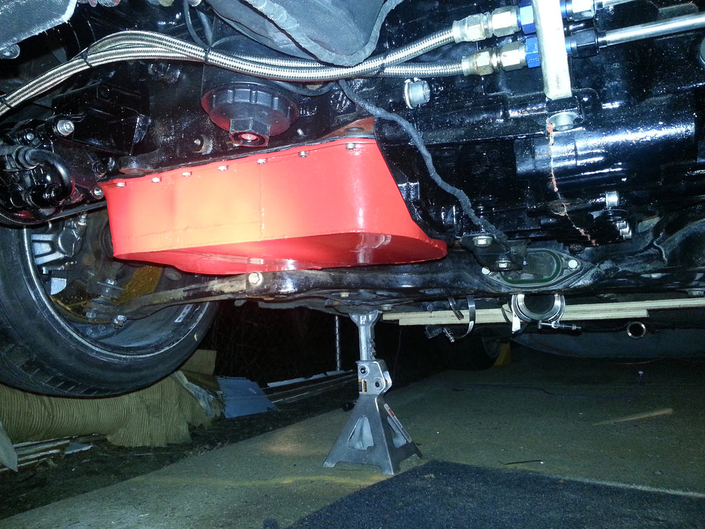 Shortened & Widened VR Oilpan