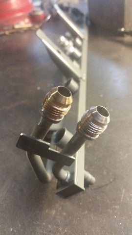 Fuel Rail to AN Conversion- VW/Audi