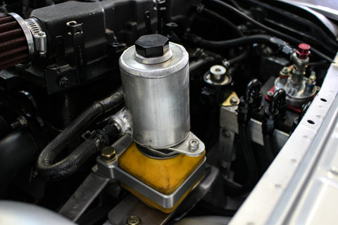 MK4 Aluminum Power Steering Reservoir