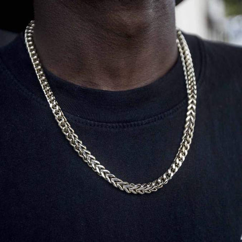 14k solid gold Franco Chain (6mm)