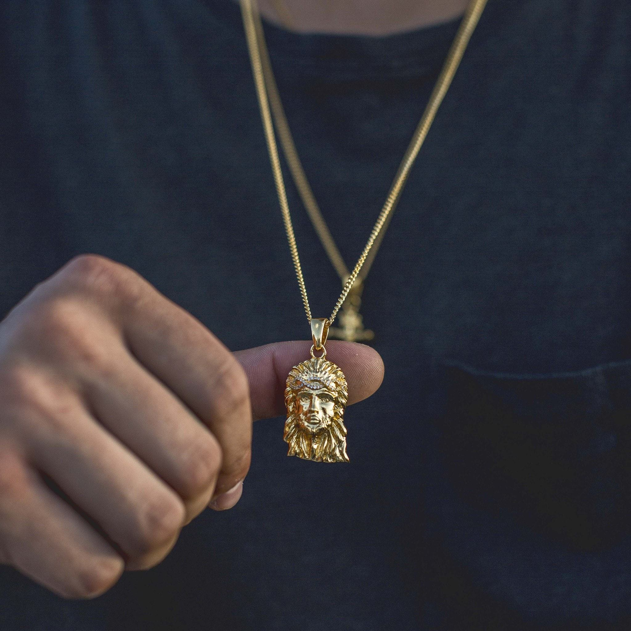 Jesus Pendant - The GLD Shop