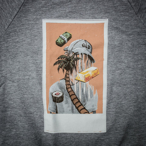 Polaroid Crewneck in Grey