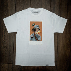 Polaroid Tee in White - The GLD Shop