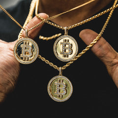 Bitcoin Pendant - The GLD Shop