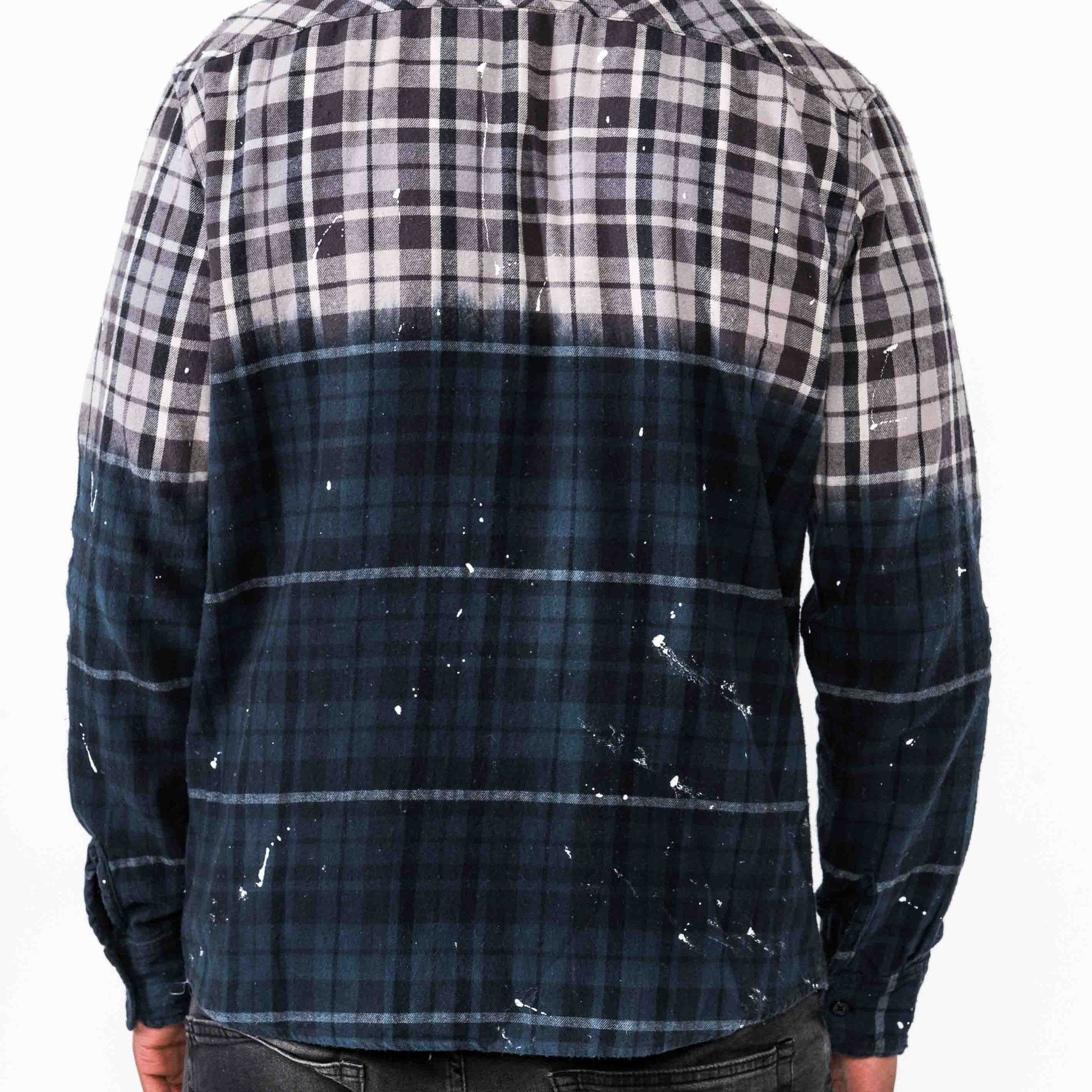 Zipped Flannel Shirt - The GLD Shop