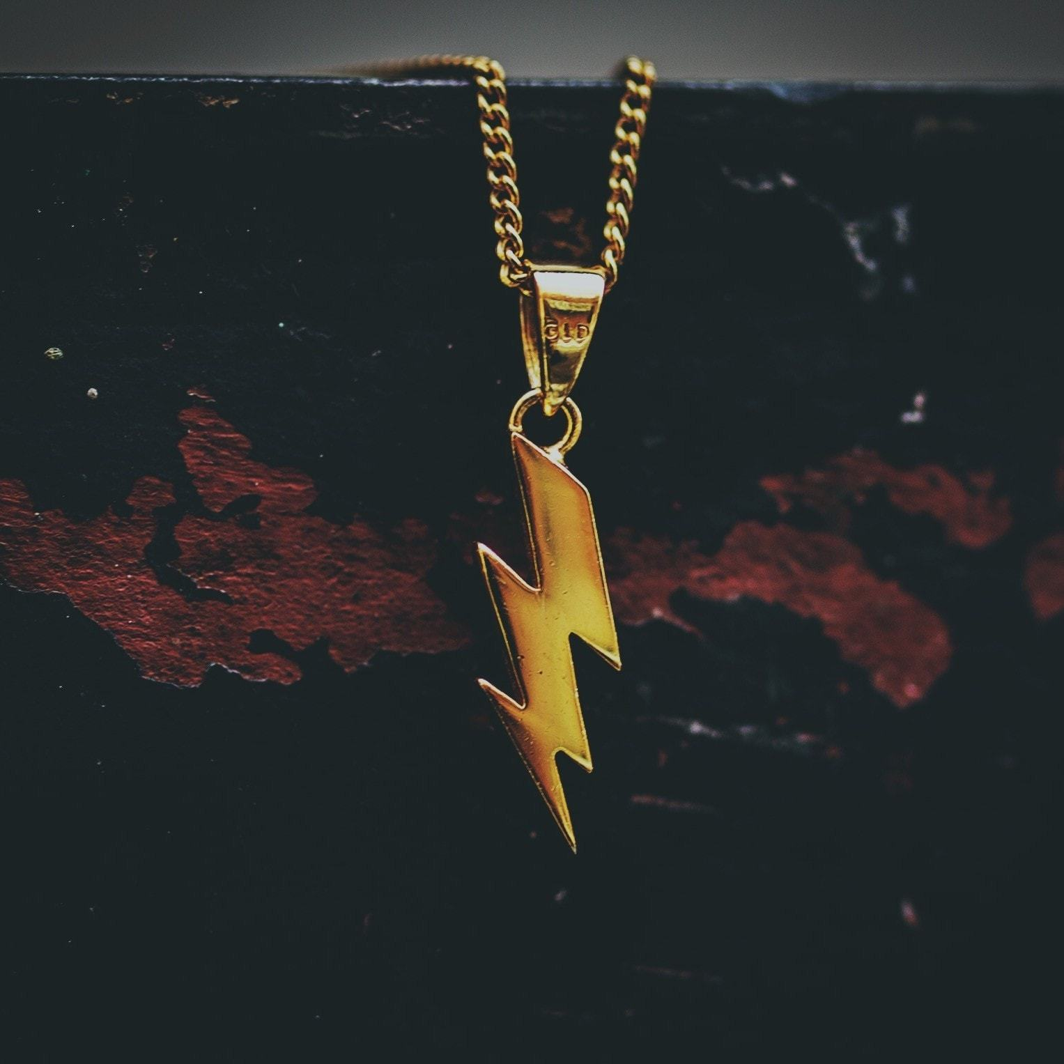 Micro Lightning Bolt - The GLD Shop