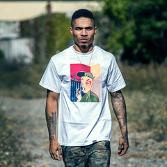 Picasso Tee in White - The GLD Shop