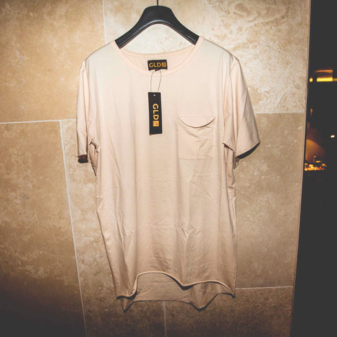 Fashion Tee in Tan