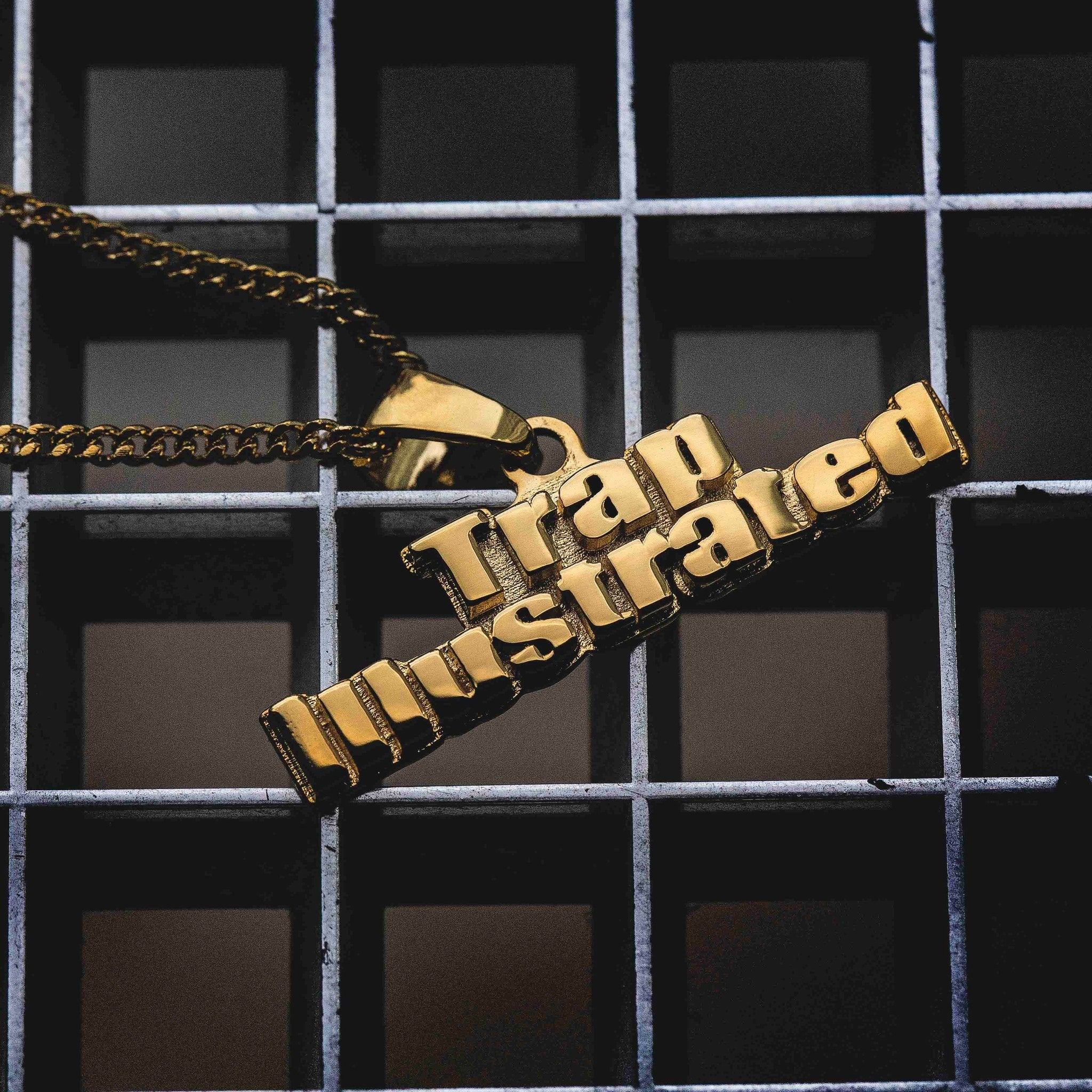 Trap Illustrated Pendant - The GLD Shop