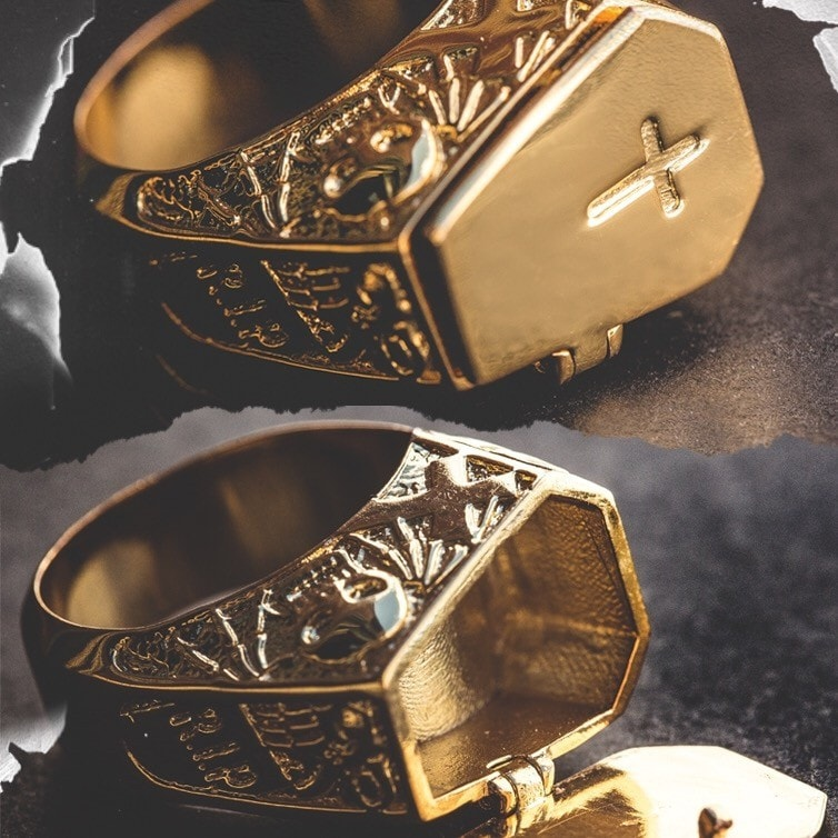 Coffin Ring - The GLD Shop