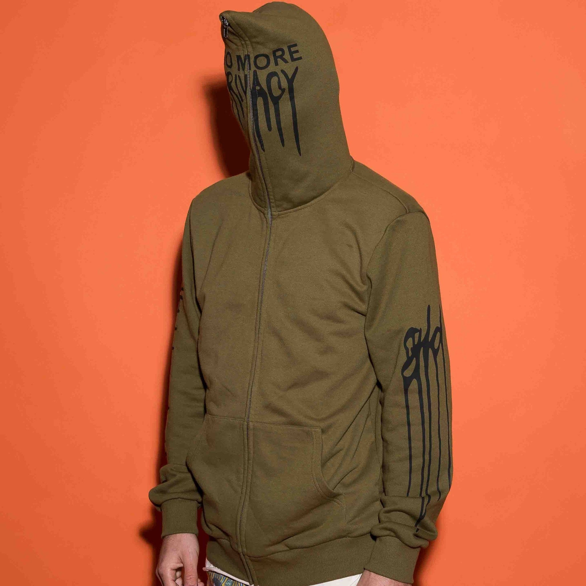 No Privacy Hoodie - Green