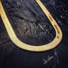 Herringbone Necklace - The GLD Shop