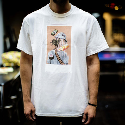 Polaroid Tee in White