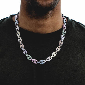 41709b18063d2 Colored Gucci Link Necklace