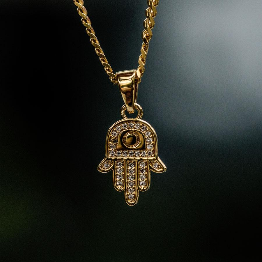 Hamsah Micro Pendant - The GLD Shop