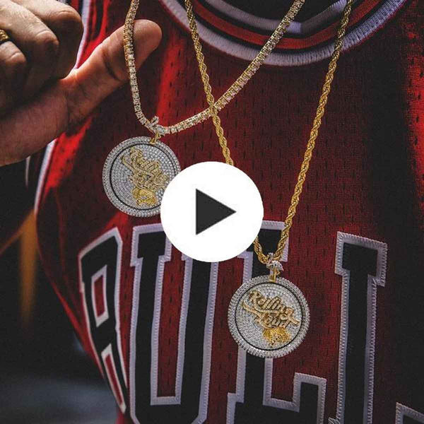 Rolling Loud Spinner Pendant The Gld Shop