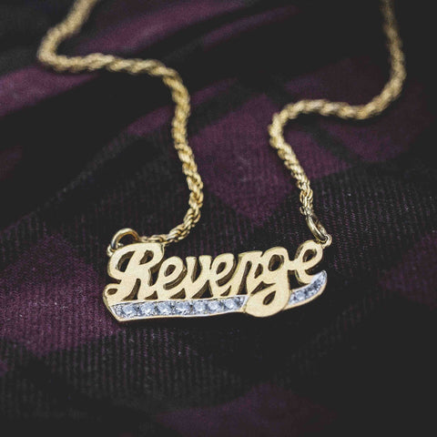 Revenge Pendant w Iced Tail - The GLD Shop
