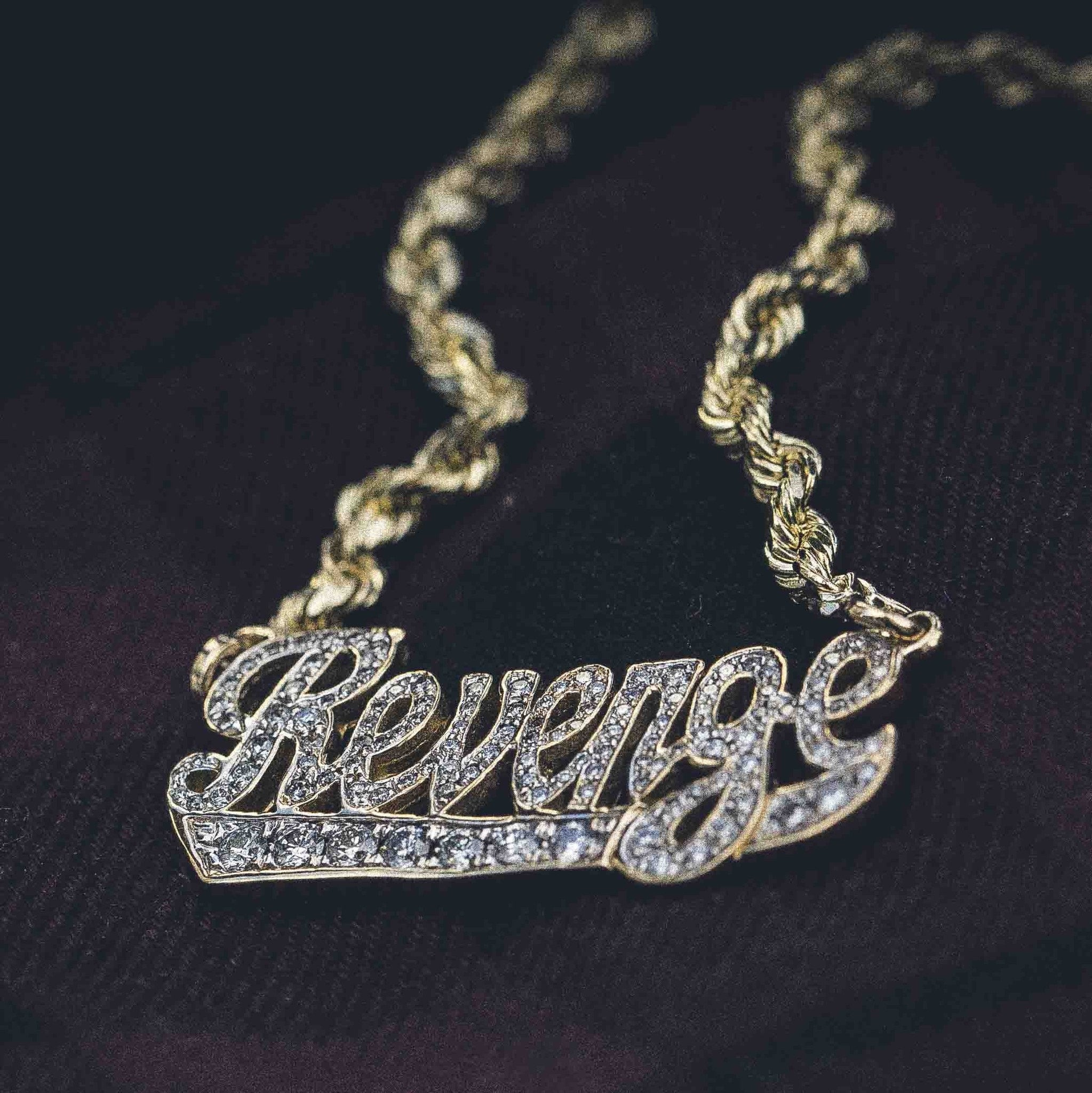 Iced Revenge Pendant - The GLD Shop