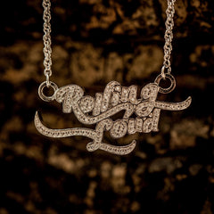 Rolling Loud Micro in White Gold - The GLD Shop