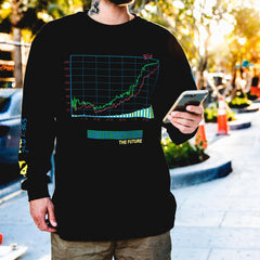 Stay Invested Long-Sleeve Tee - The GLD Shop