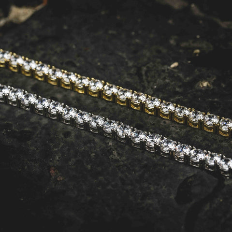 Round Cut Tennis Bracelet Bundle - The GLD Shop