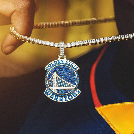 Golden State Warriors Pendant