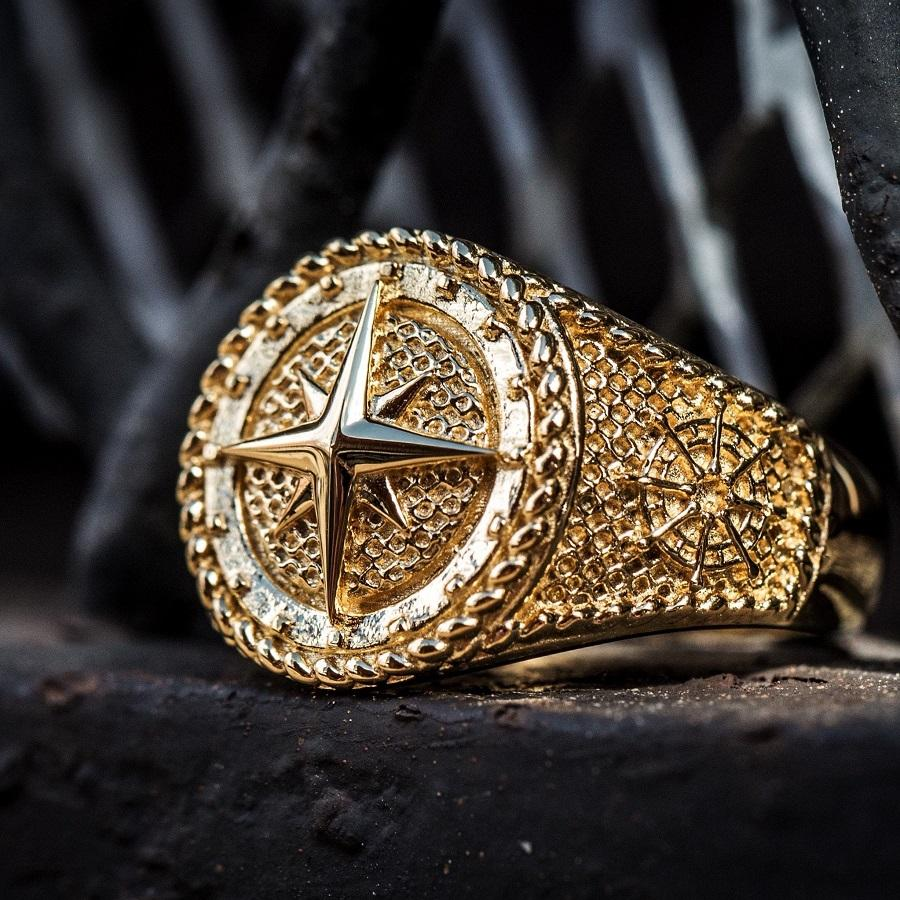 Nautical Compass Ring - The GLD Shop