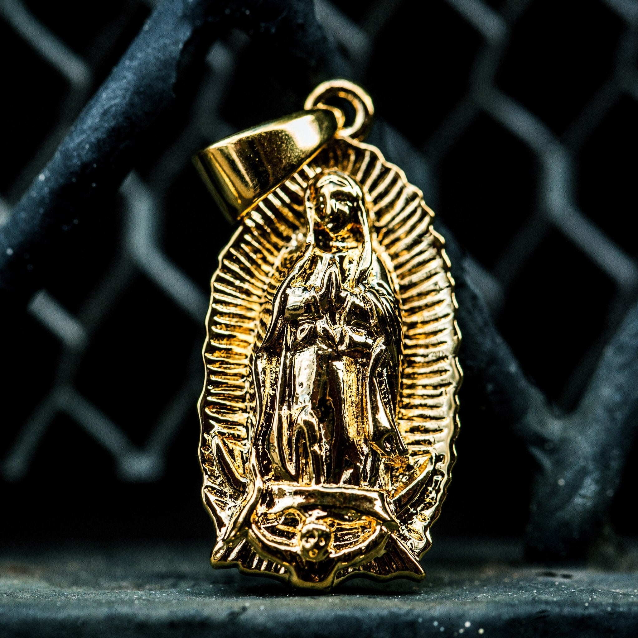 Lady of Guadalupe Pendant - The GLD Shop
