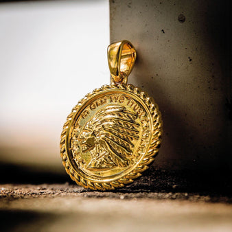 Gld chief coin pendant the gld shop gld chief coin pendant the gld shop aloadofball Image collections