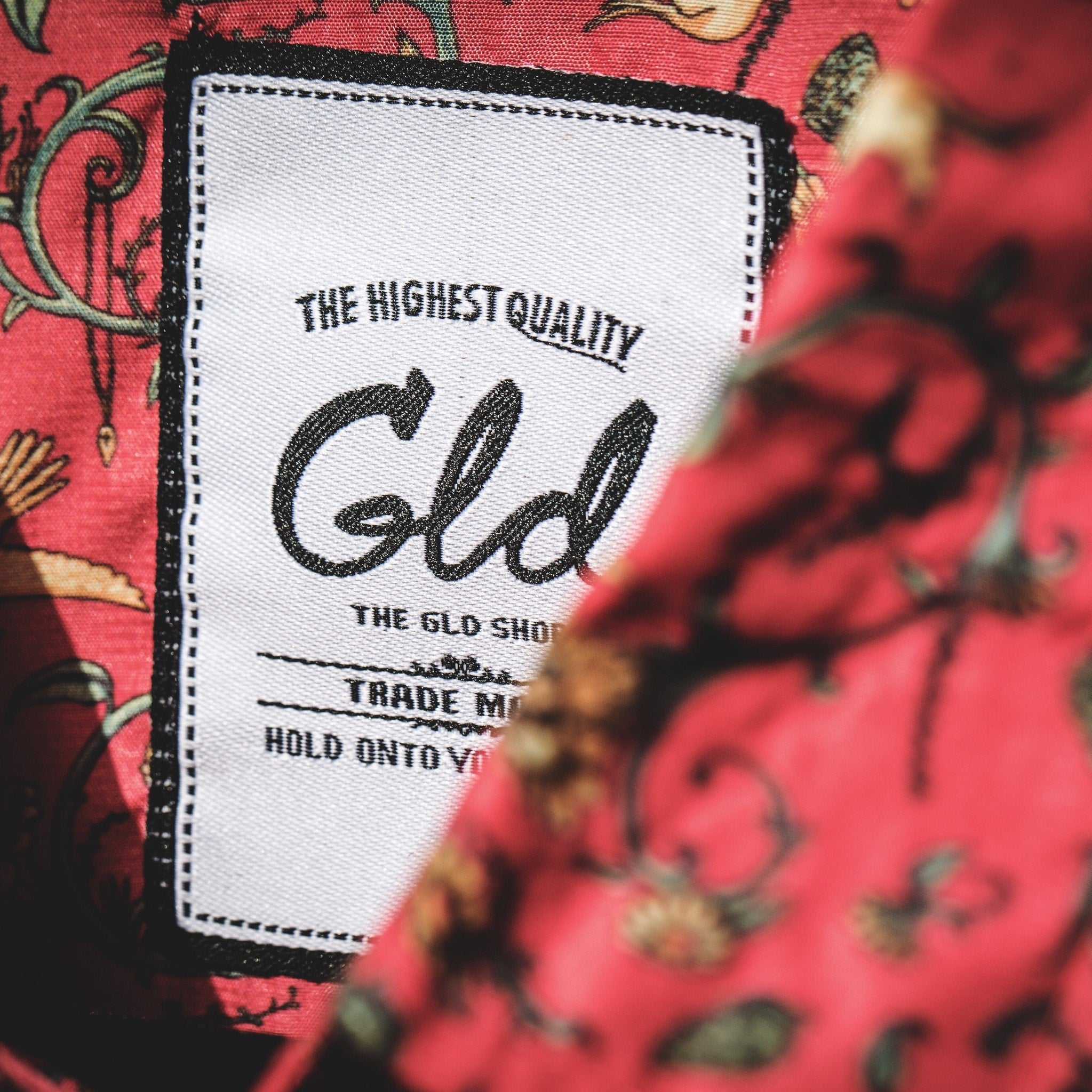 Under the Sky Button Down (Red) - The GLD Shop