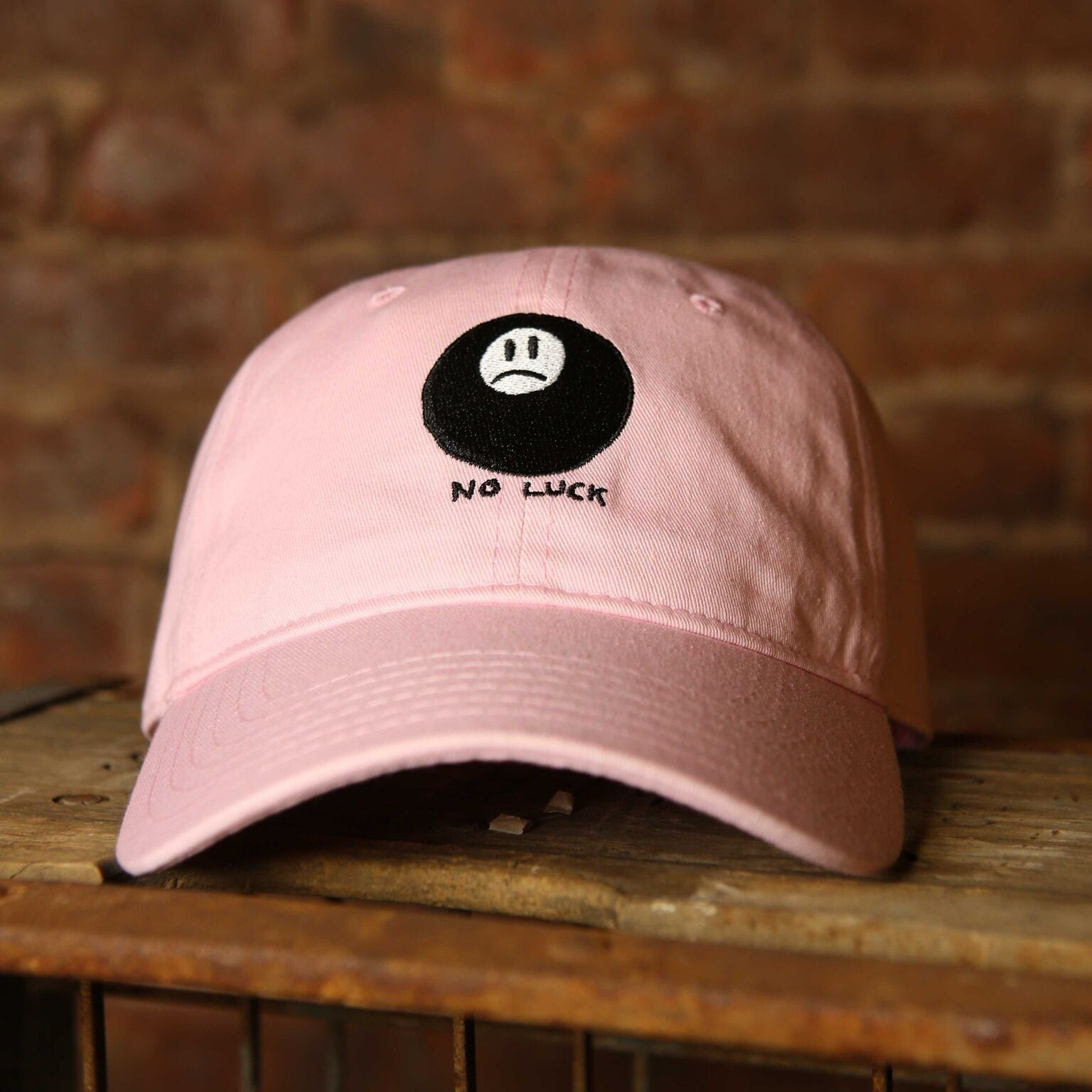 No Luck Strapback - The GLD Shop