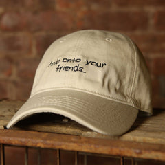 """Hold Onto Your Friends"" Hat - The GLD Shop"