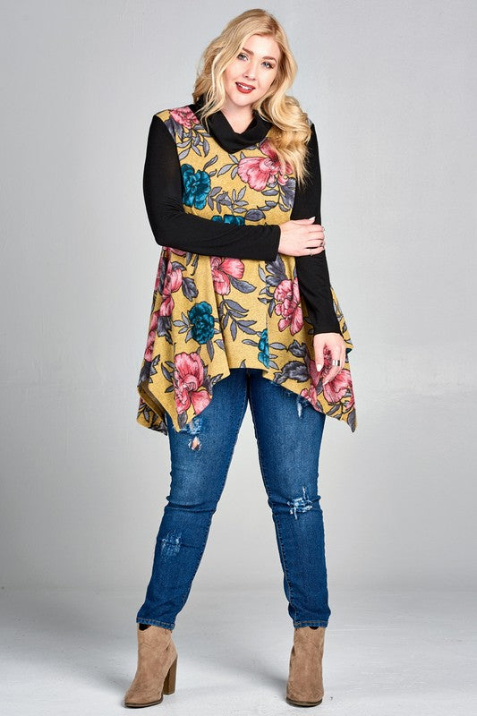 Model Behavior Tunic (Plus Only) FINAL SALE