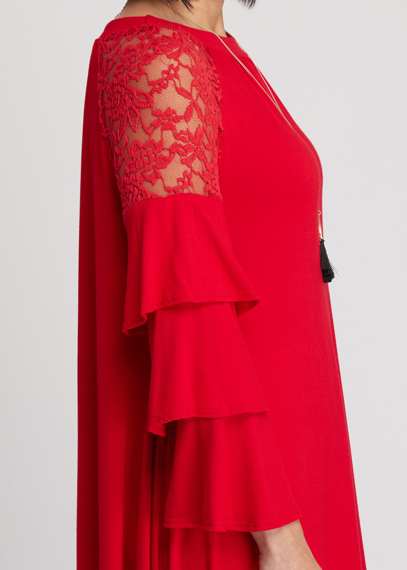 Love Story Dress - RED