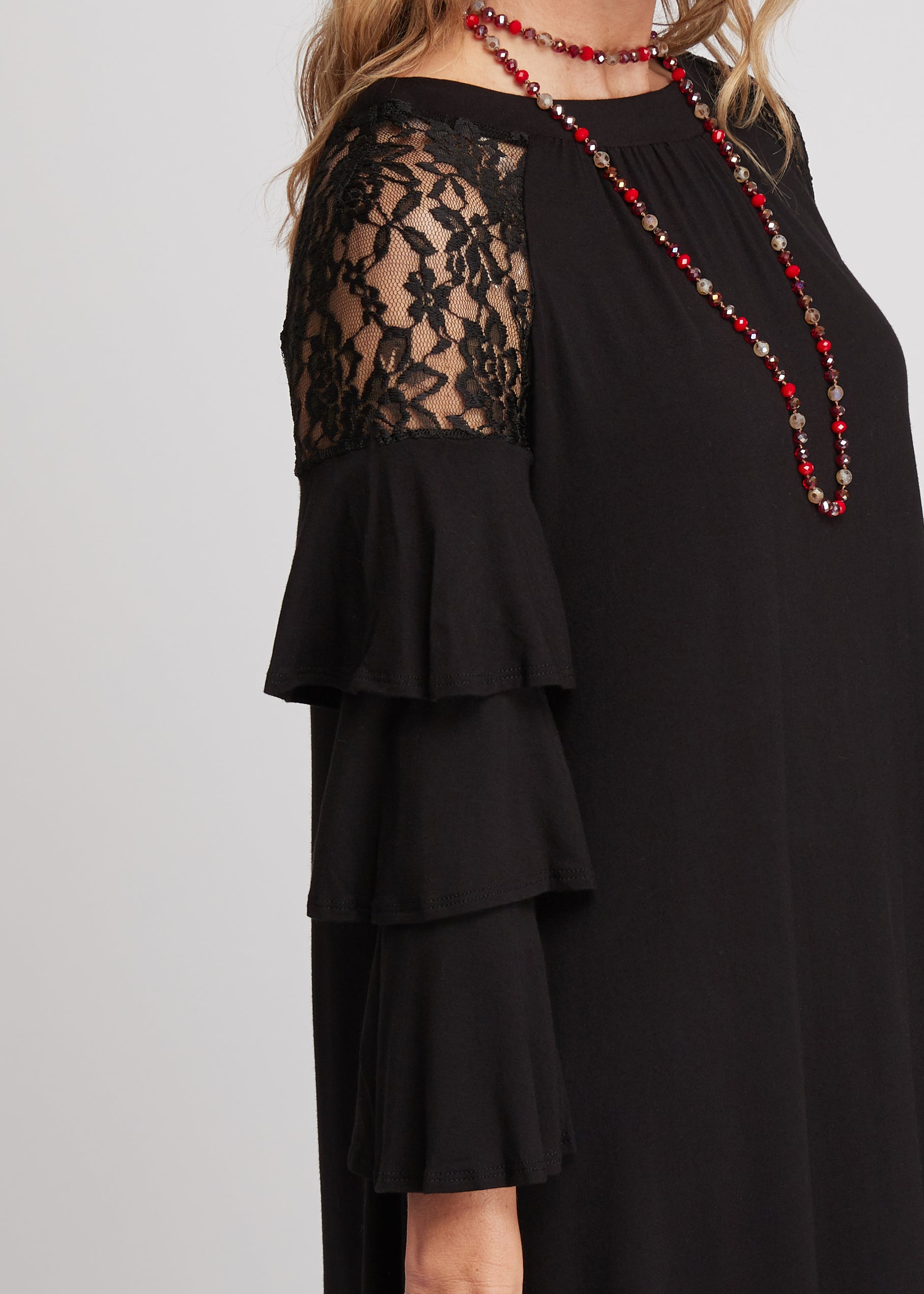 Love Story Dress -BLACK - FINAL SALE