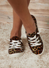 Load image into Gallery viewer, Comfy Leopard Sneakers - FINAL SALE