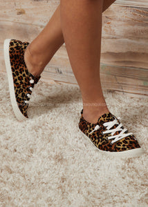 Comfy Leopard Sneakers - FINAL SALE