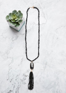 The Perfect Touch Necklace- Black