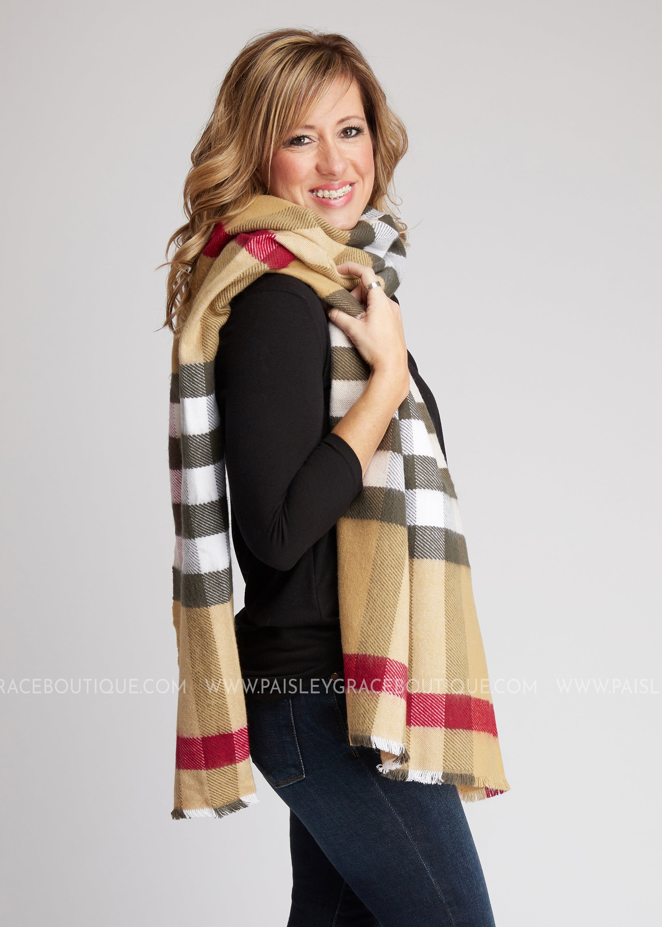 City Girl Long Scarf