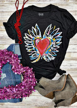 Load image into Gallery viewer, Winged Heart Tee - RESTOCK