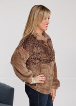 Load image into Gallery viewer, Warm Thoughts Pullover-MOCHA - FINAL SALE