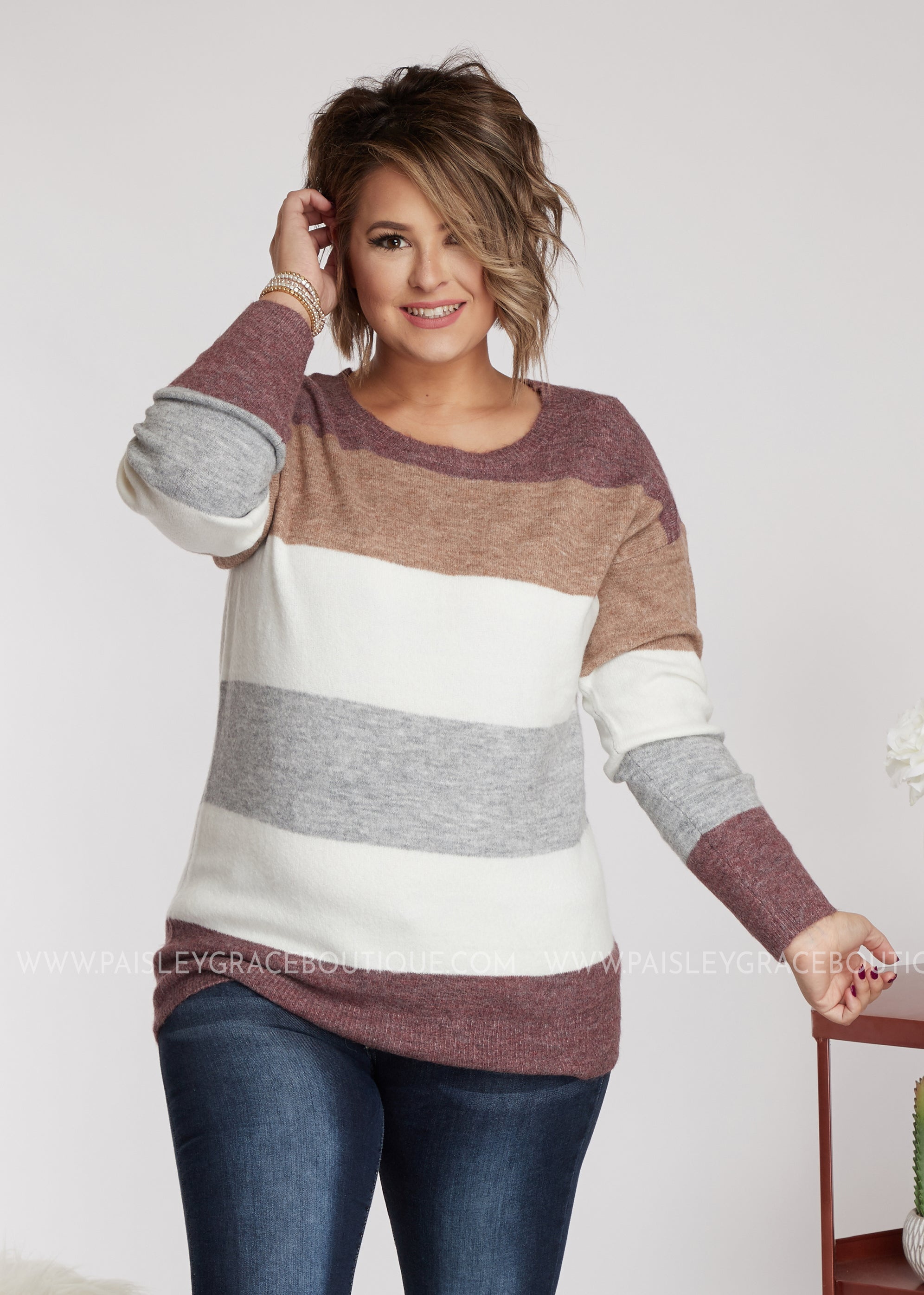Latte Mornings Sweater