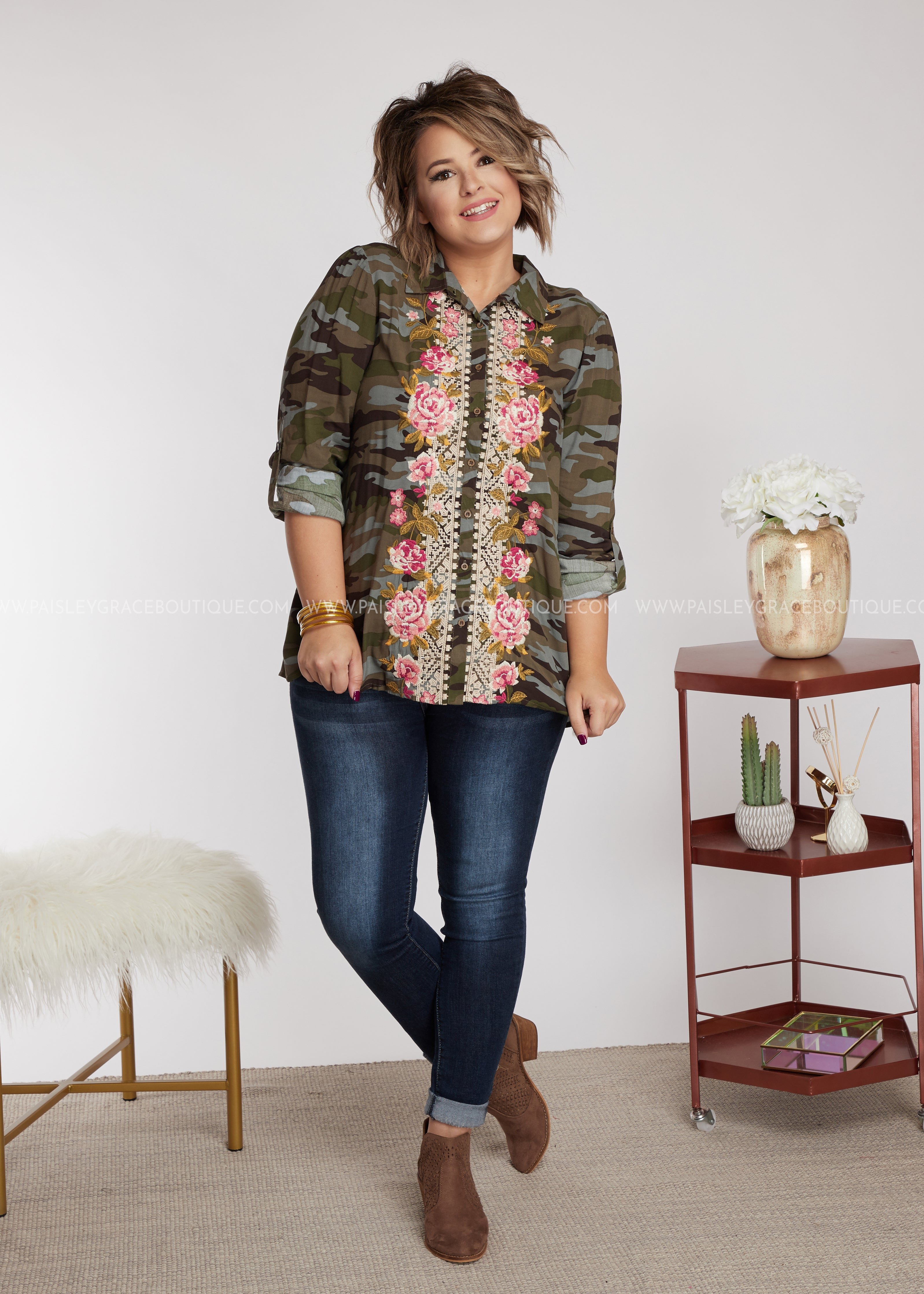 Catalina Embroidered Top