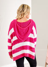 Load image into Gallery viewer, Timeline Hoodie- HOT PINK - FINAL SALE