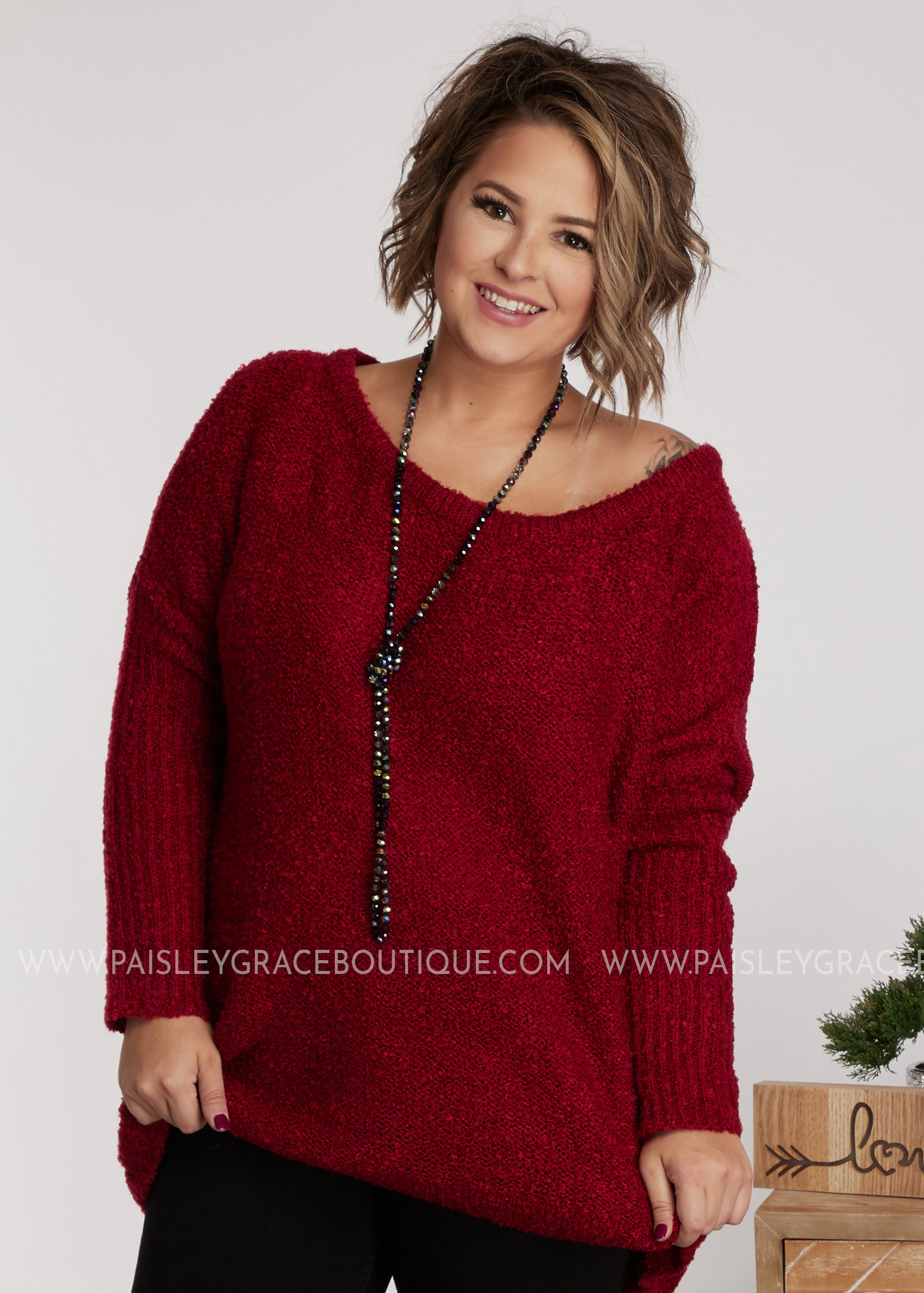 Ezra Sweater- RUBY