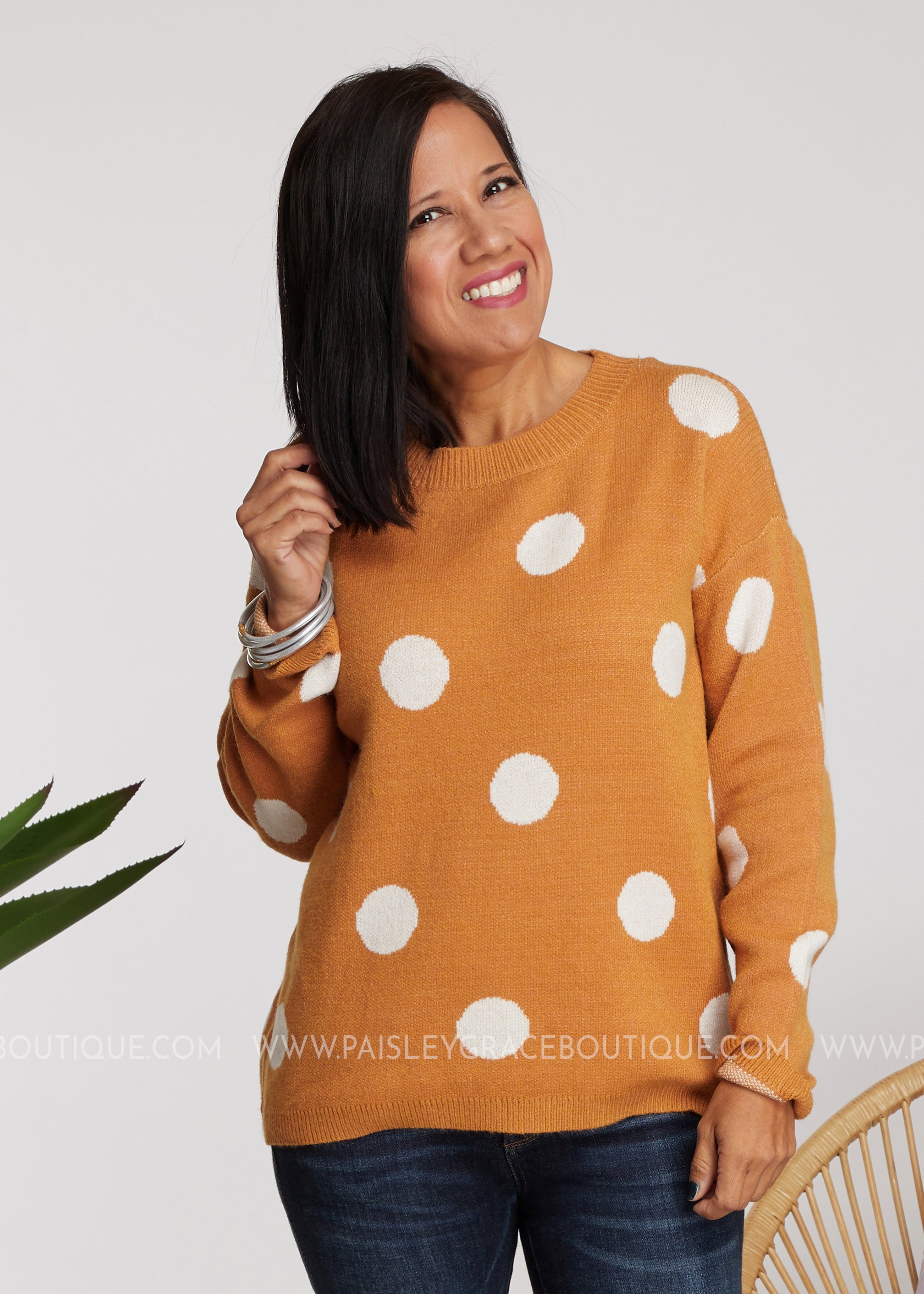 Casual Obsession Sweater-MARIGOLD - FINAL SALE