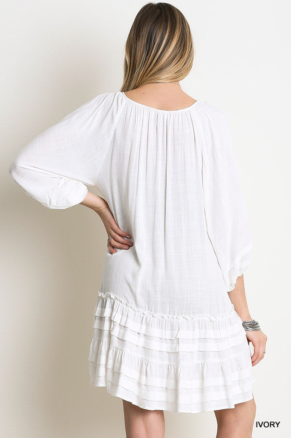 Hayden Tunic/Dress - Ivory