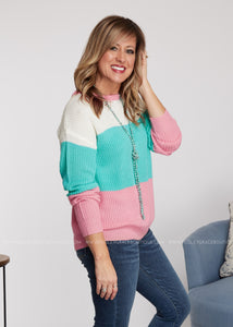 Bubbly Personality Sweater - DOORBUSTER